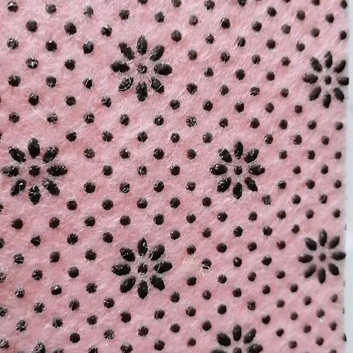 100% polyester chống trượt cảm thấy nonslip thảm lót vải