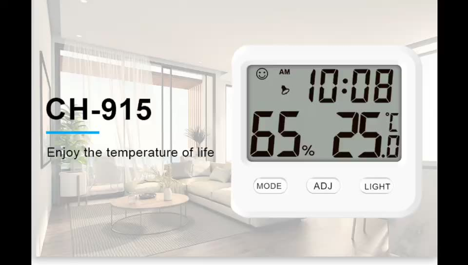 CH-915 Thermo-Hygrometer Thermo Hygrometer Temperature Humidity Meter Data Logger Controller Digital Thermo Hygrometer
