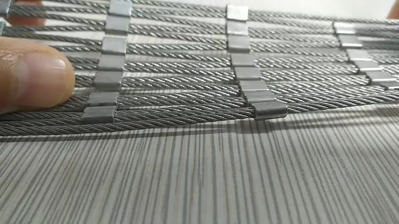 High Tensile Architectural Stainless Steel protective cable wenbnet/antirust wire mesh for stair and bridge/Anti-falling Net