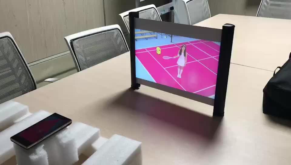 Meja Portabel Lipat Layar Proyeksi untuk Proyektor Mini