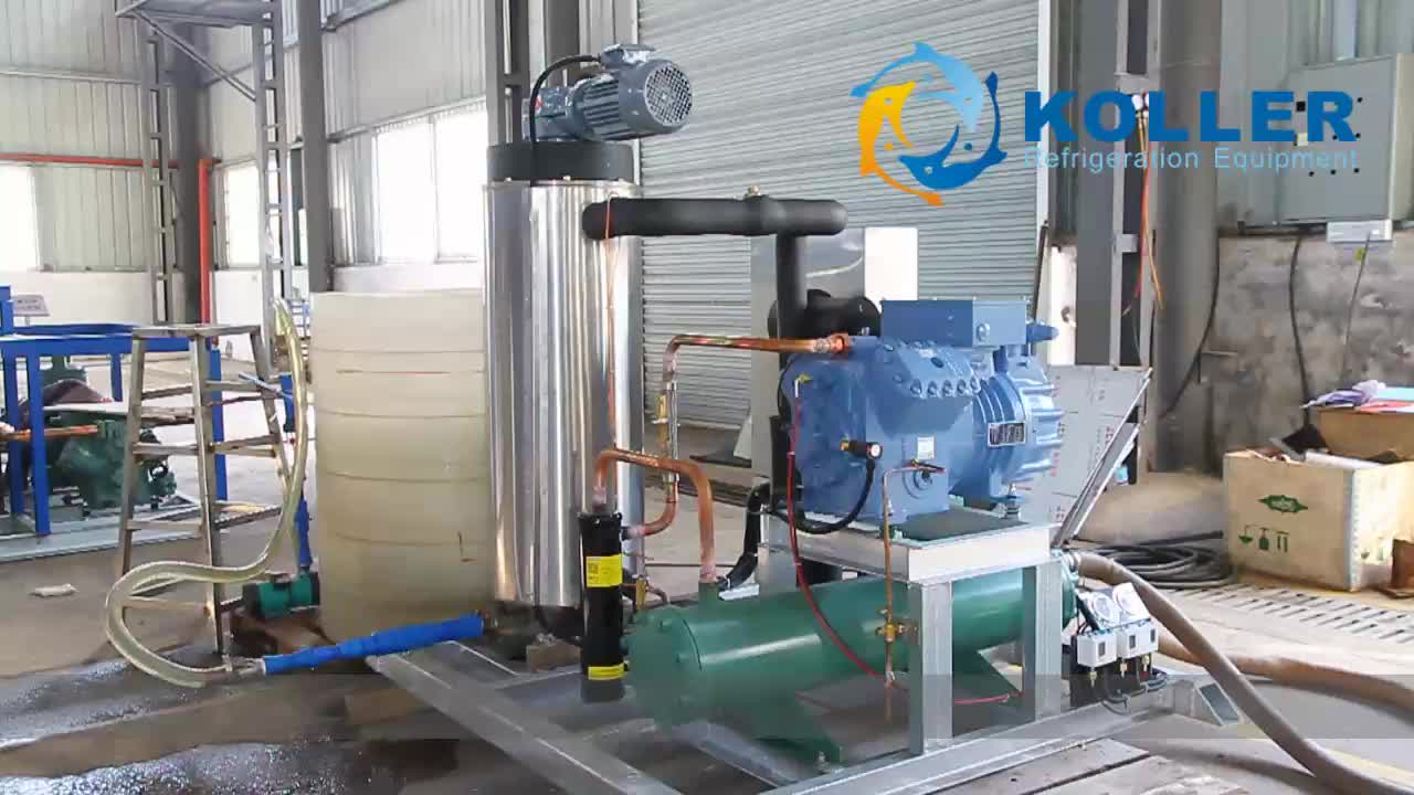 Koller 10TPD quick freeze seawater slurry ice making machine