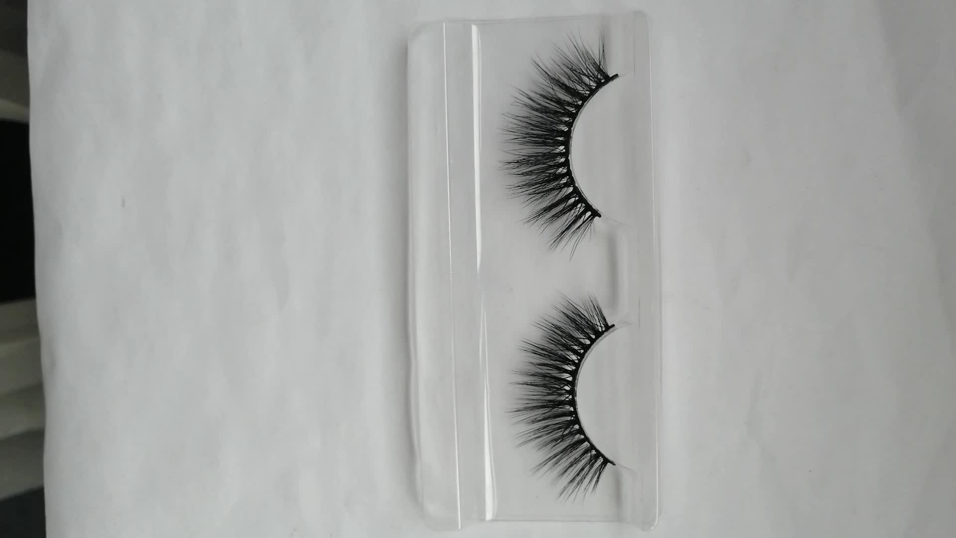 professional wholesale mink eyelash vendor luxury natural mink eyelashes private label with custom packaging box eyelash