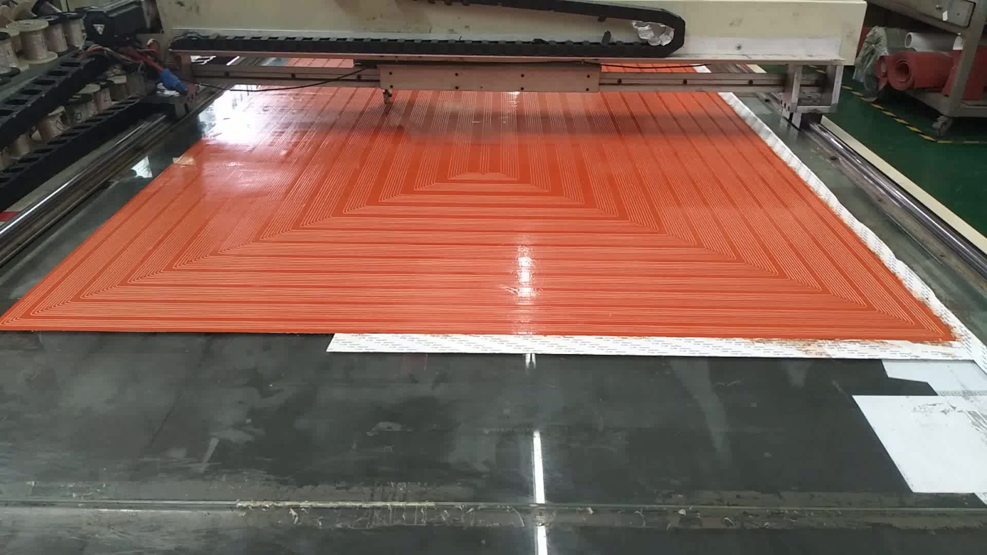 Custom Dimensions 1800x1800mm Silicone Heater Hot Bed for Giant 3D Printer