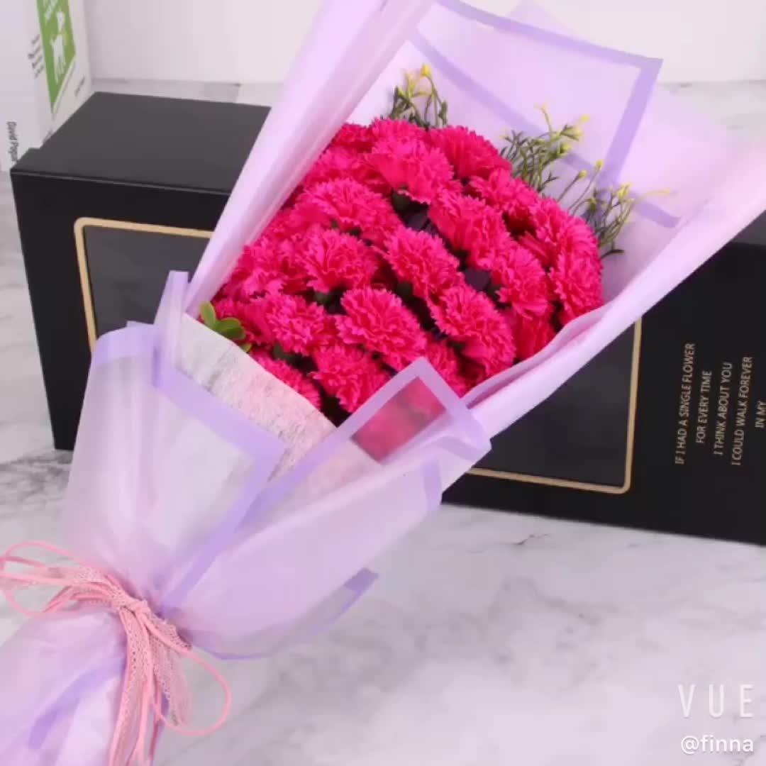 도매 고품질 최고의 생일 선물 중국 카네이션 꽃 어머니의 날