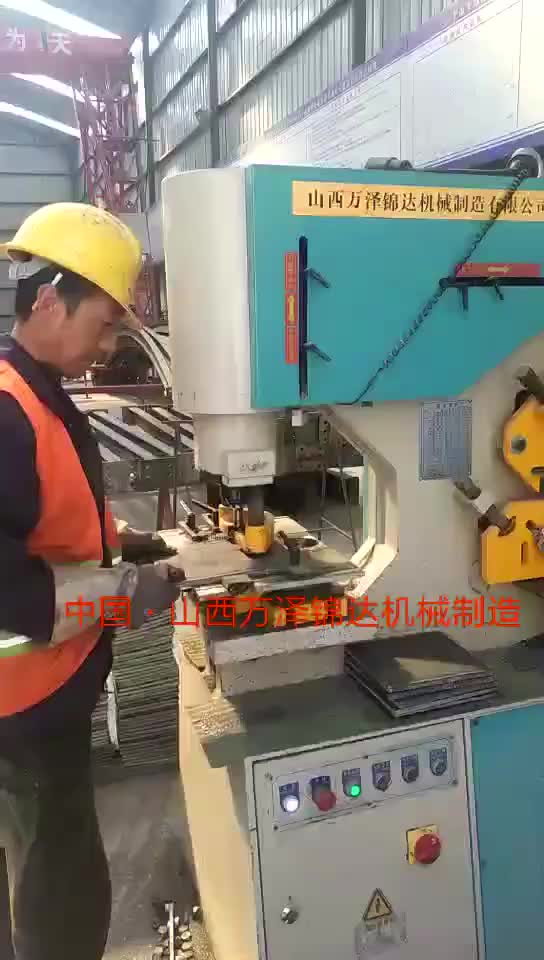 hydraulic combined punch and shear machine