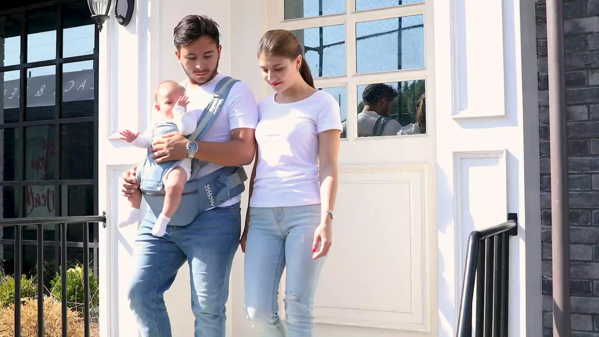 0-48M Ergonomische Baby Träger Infant Baby Hipseat Träger Vorne Ergonomische Kangaroo Wrap Sling für Baby Reise
