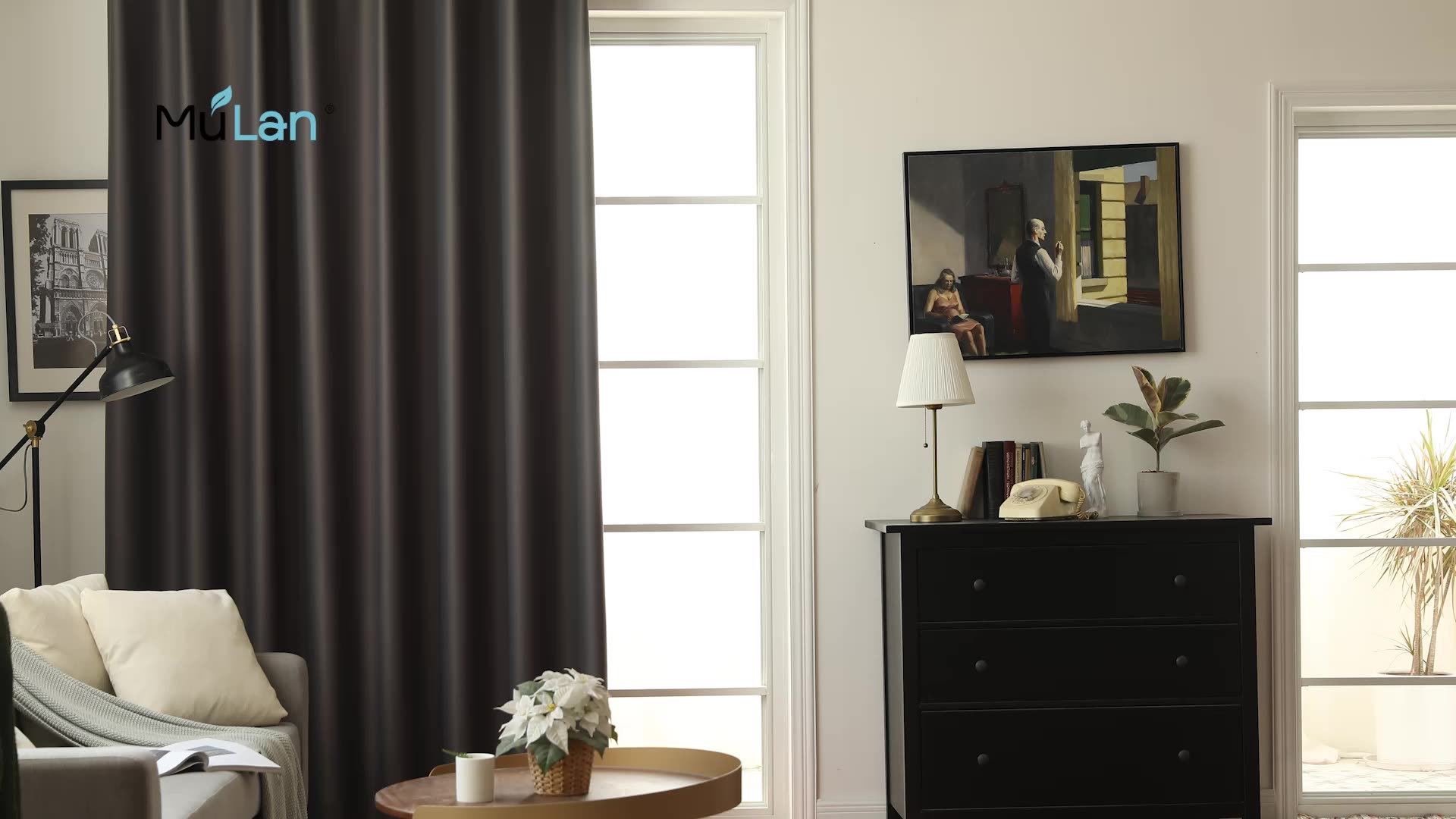 High Quality Cortinas 80% Blackout Curtains For The Living room Ready Made With Eyelet 54x96 inch, Accept custom