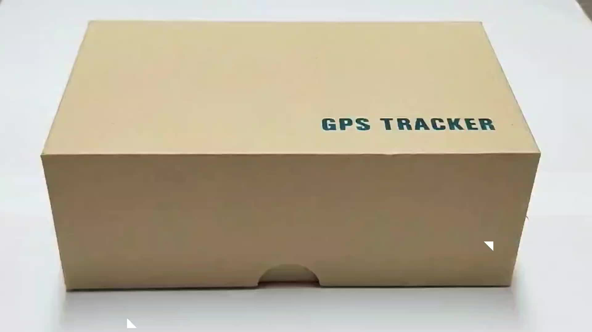 5000mah long time standby GPS tracker for car tracking device