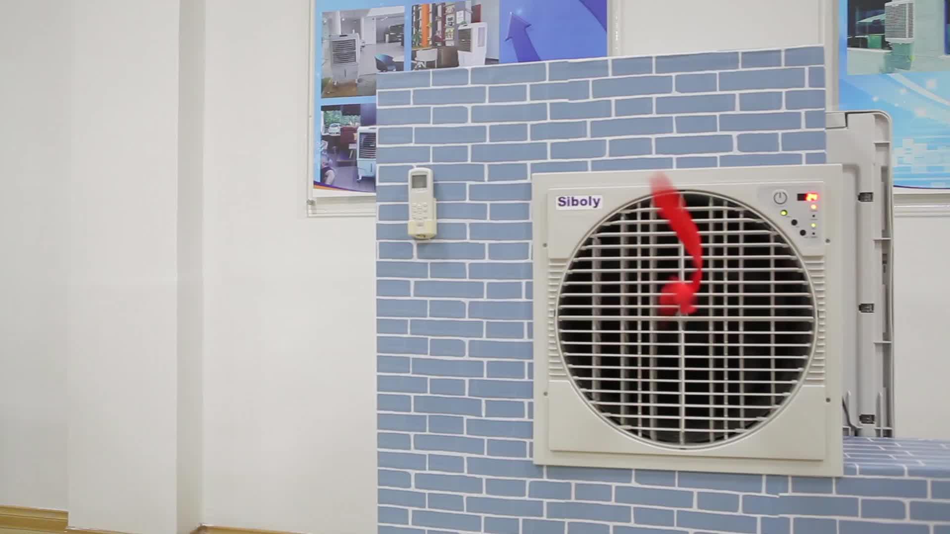 6000CMH Industri dinding evaporative gurun Air Cooler dengan tenaga surya