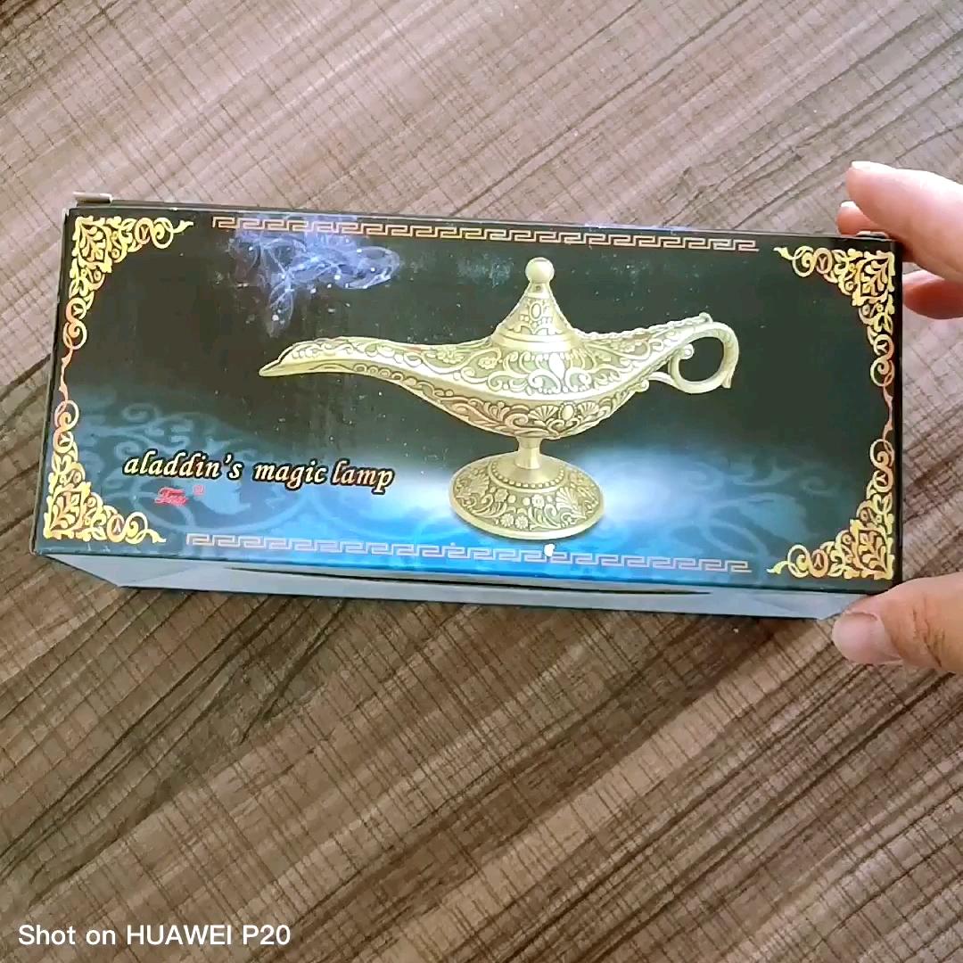 2019 Baru Rusia Hadiah Paduan Seng Enamel Warna Yang Berbeda Berharap Lampu Aladin Lampu Kerajinan Ornamen
