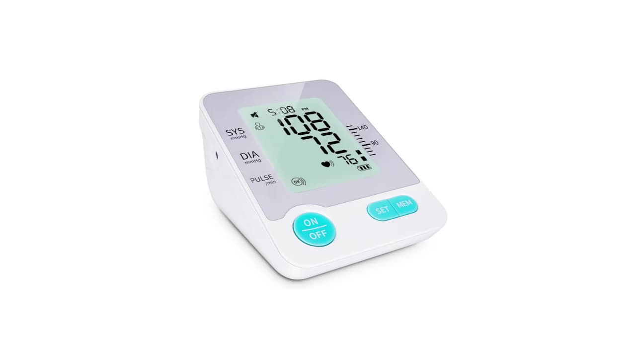 High quality continuous blood pressure monitor USB digital arm type blood pressure monitor