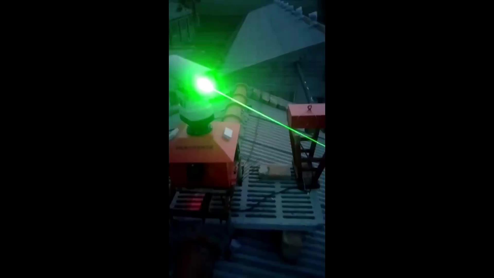 4-in-1 Uzun Menzilli Lazer Akustik Dolu Kuş Kovucu Tarım, Su Ürünleri Yetiştiriciliği ve enerji santralleri