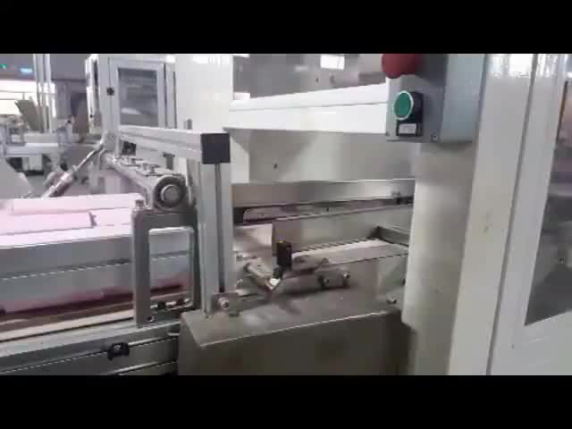 automatic pouch vertical paper packing machine tissue processing machine