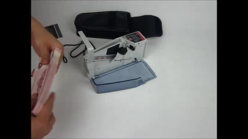 Mini Portable Handy Money counter Adapter or 4 AA Batteries For suitable for most of currency