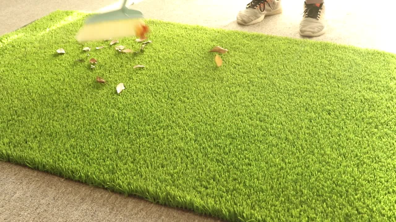 high quality artificial green grass wall/fence for decoration