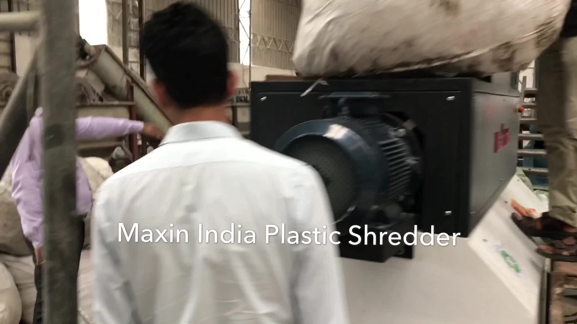 Multipurpose Double Shaft Heavy Duty Industrial Shredder for Recycle Plastic Waste to Reduce, Reuse all type of material.