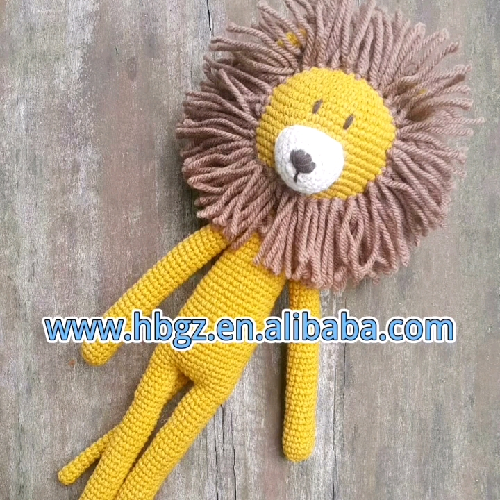 New Design Best Sale High Quality Handmade Crochet Toys Stuffed Animal Bear Toys