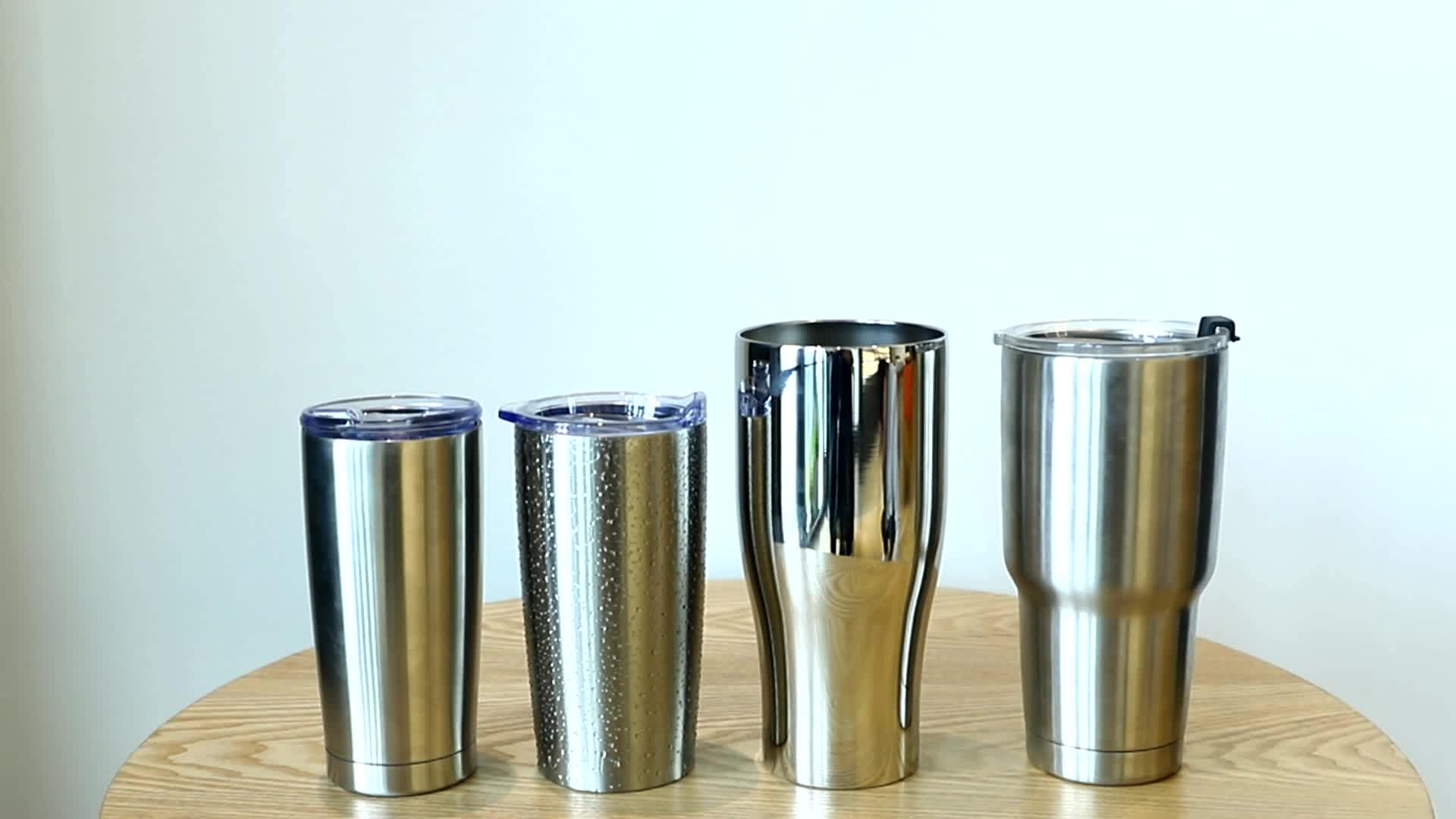 20oz 30oz Double Wall Stainless Steel Vacuum Insulated Tumbler Cups Coffee Tumbler Cups Wholesale