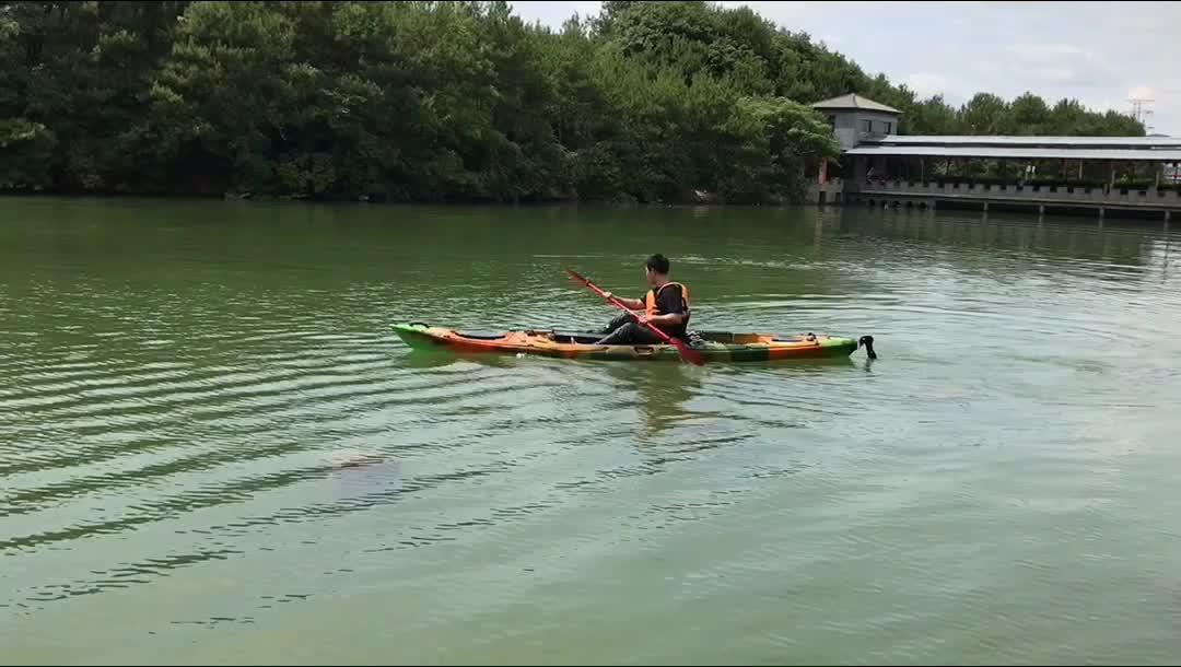 Custom made homem pedal caiaque de pesca do mar 1