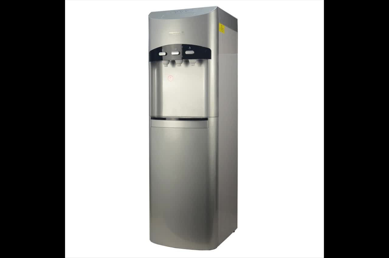 Bottleless Free-Standing Reverse Osmosis Drinking Water Filter Water Cooler Dispenser-3 Temperature Hot, Cold & Room water