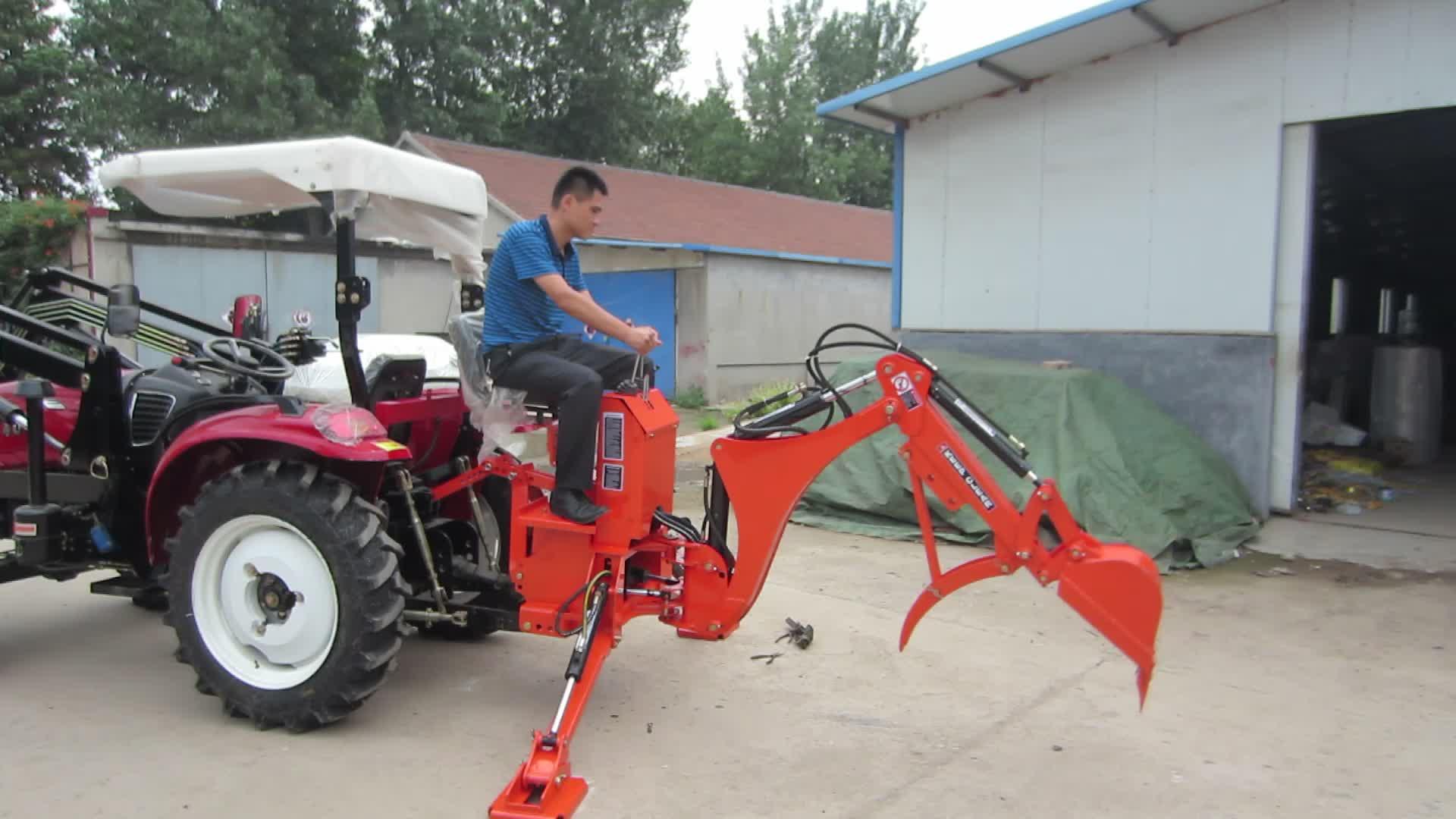 LW-4 Kleine PTO Backhoe voor Tractor