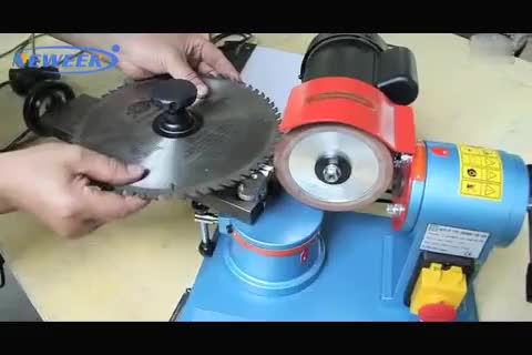 NEWEEK sawmill use manual planer circular saw blade sharpener machine