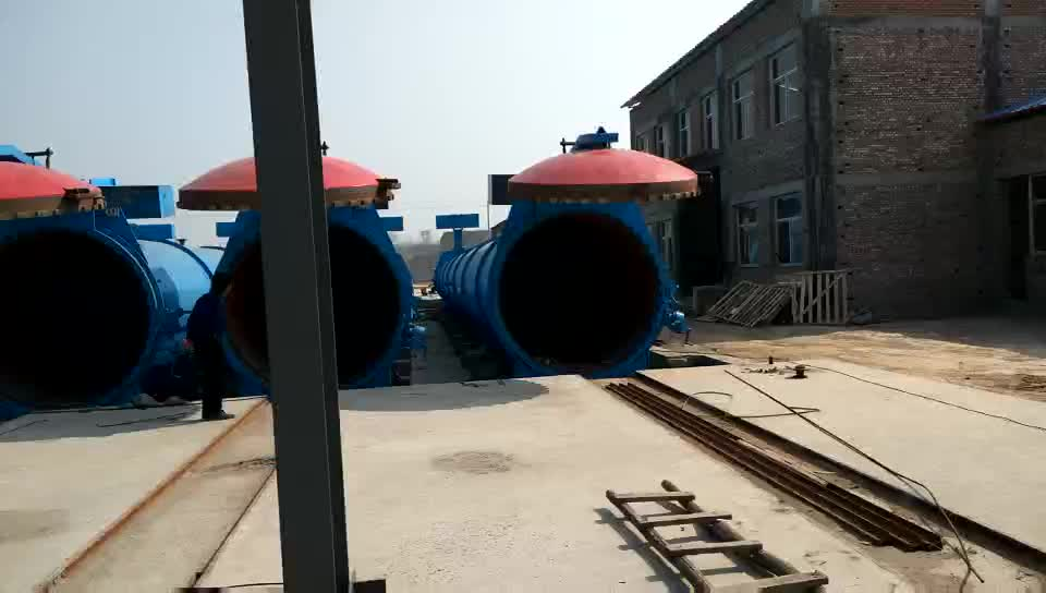sound absorption small aac block machine  for Autoclave Aerated concrete block