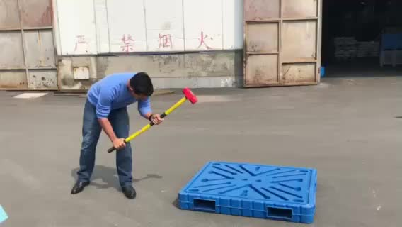 High Impact Strength Blow molding plastic pallet 1200*1000