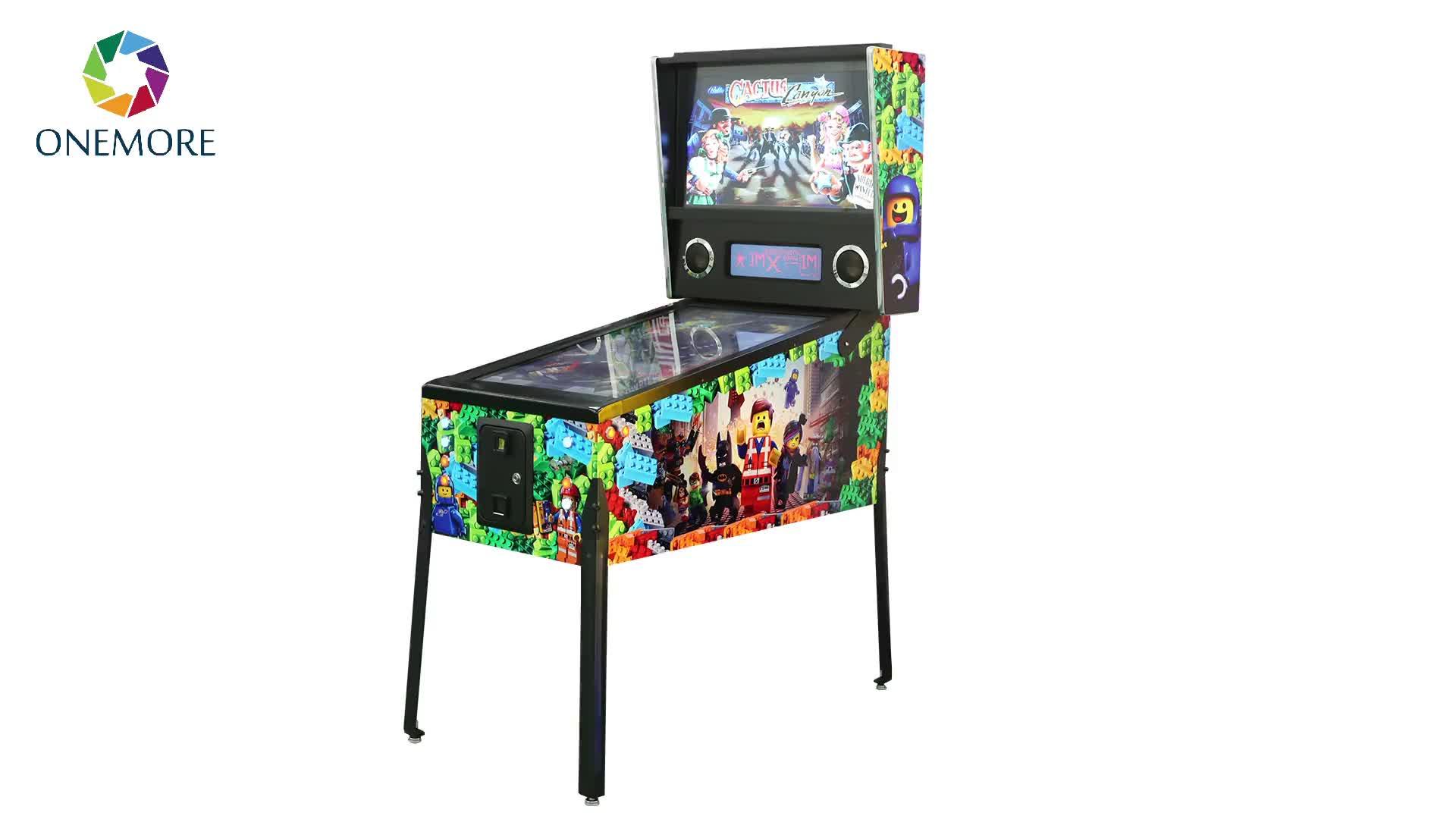 Hot Koop 3 screen ACDC Digitale Pinball Game Machine Met 845 Games