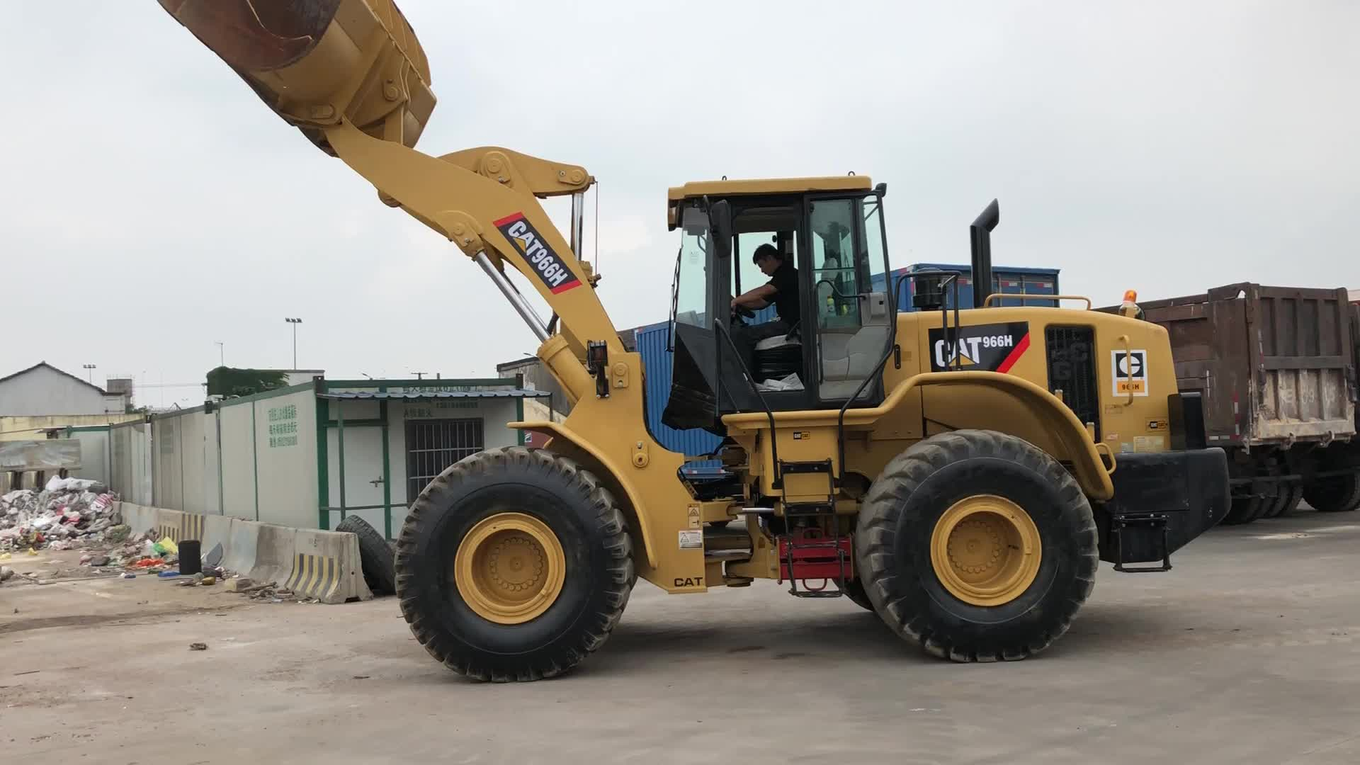 High Quality Used Caterpillar Wheel Loader 966H