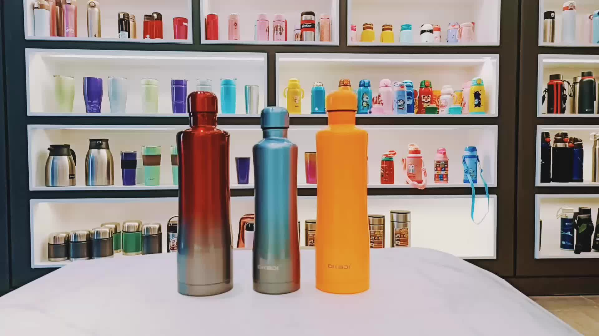 double wall stainless steel shaker bottle and Eco-Friendly Feature drinking bottle