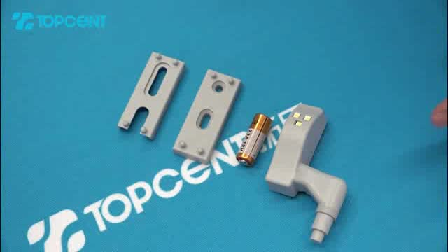 TOPCENT hot sale cabinet lamp hinge led light for furniture