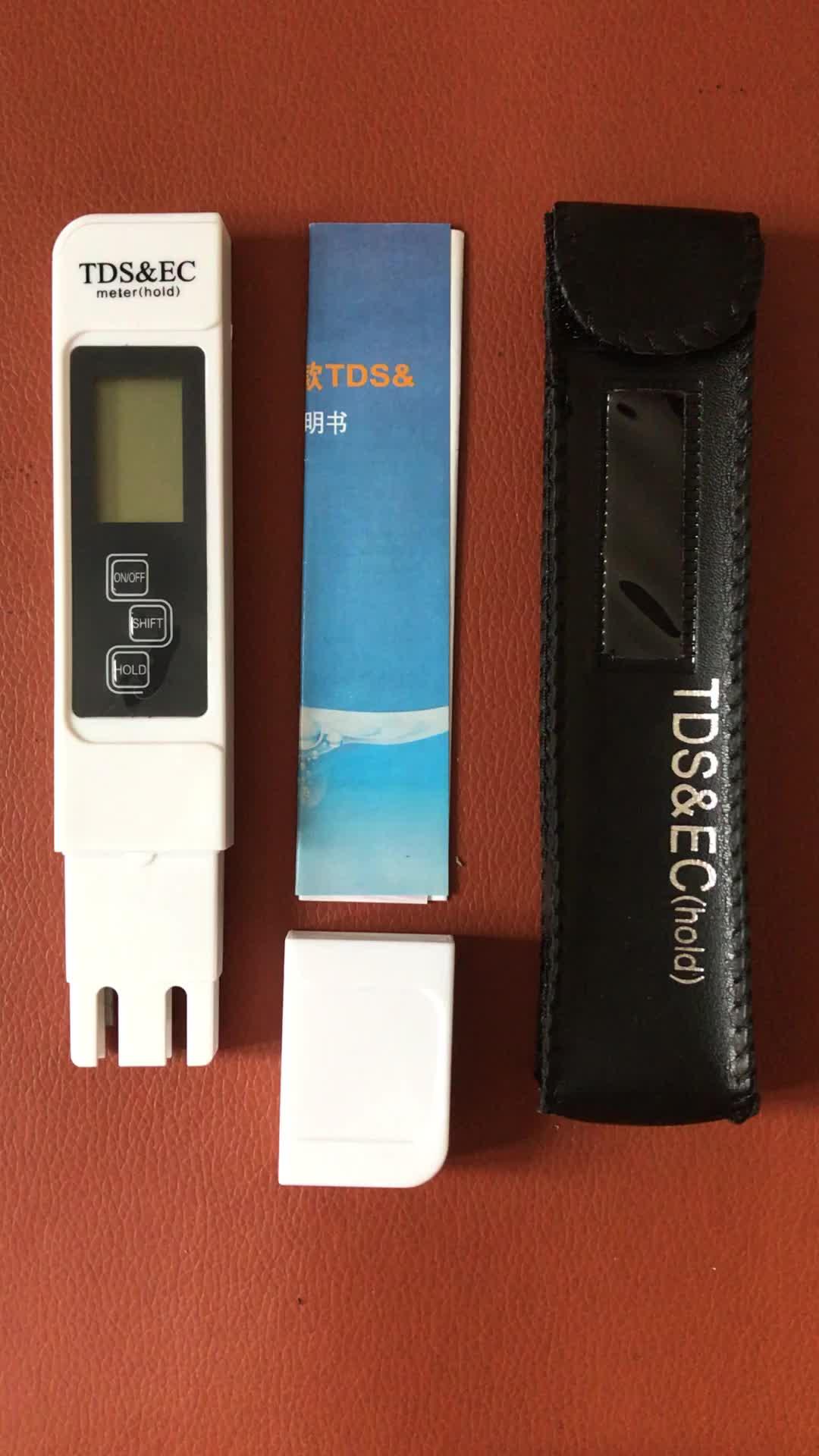 Qualità dell'acqua Temperatura di Prova del Tester TDS PH EC 4 in 1 Kit