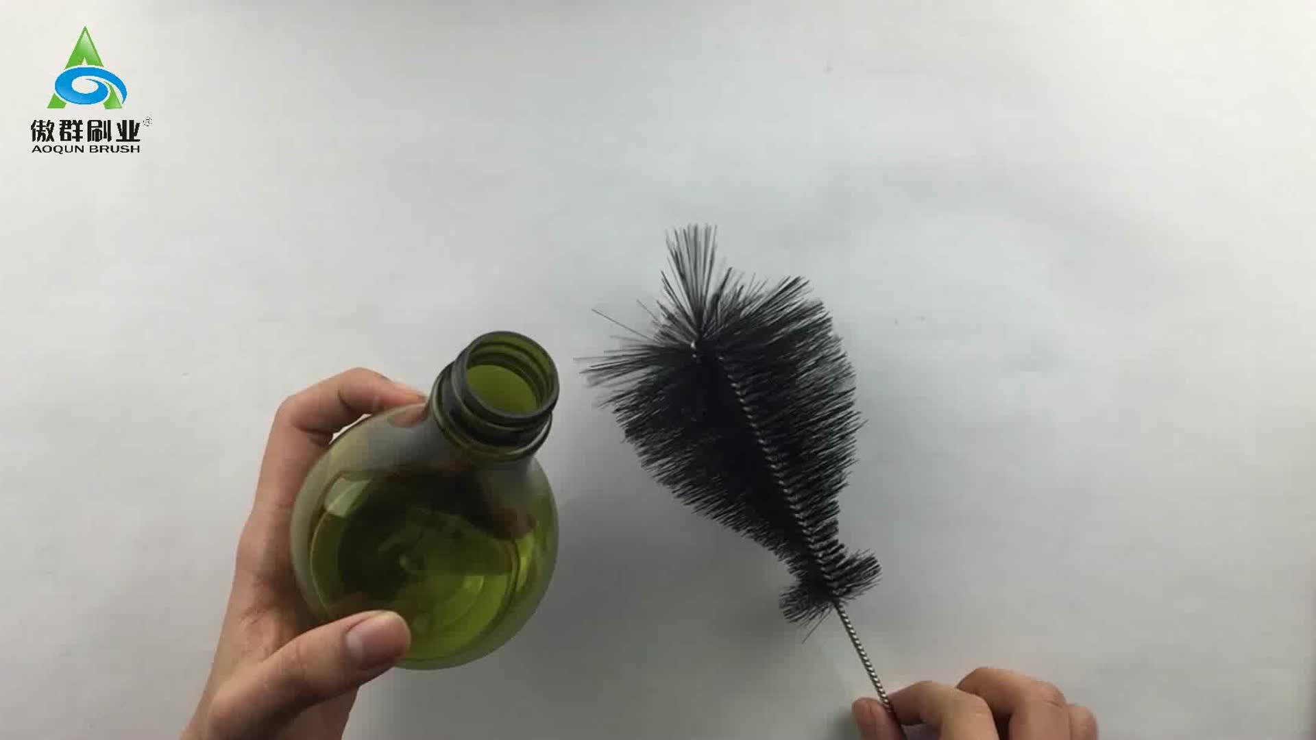 Lab Supplies Brush Laboratory Glassware Bottle Pipette Burettee Brush