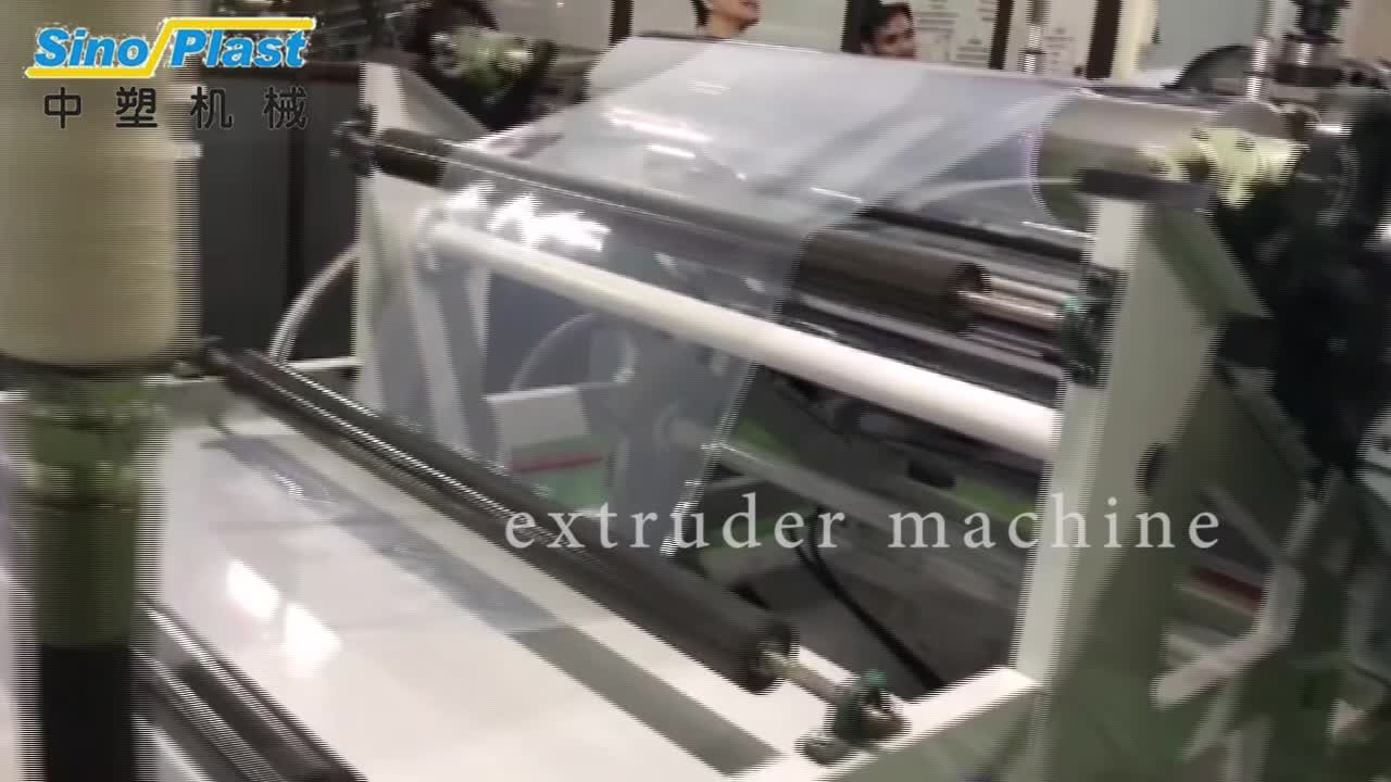 2019 New product  PP Plastic Sheet Extruder Making Machine Factory Outlet