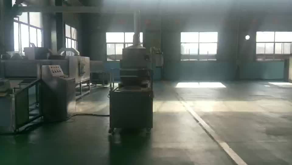 PLC controller microwave sterilizing machine for bottle jars