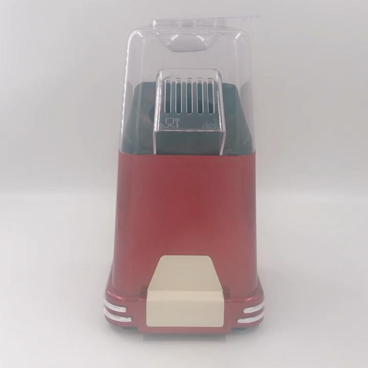 Home Use Retro Series Hot Air Popcorn Maker