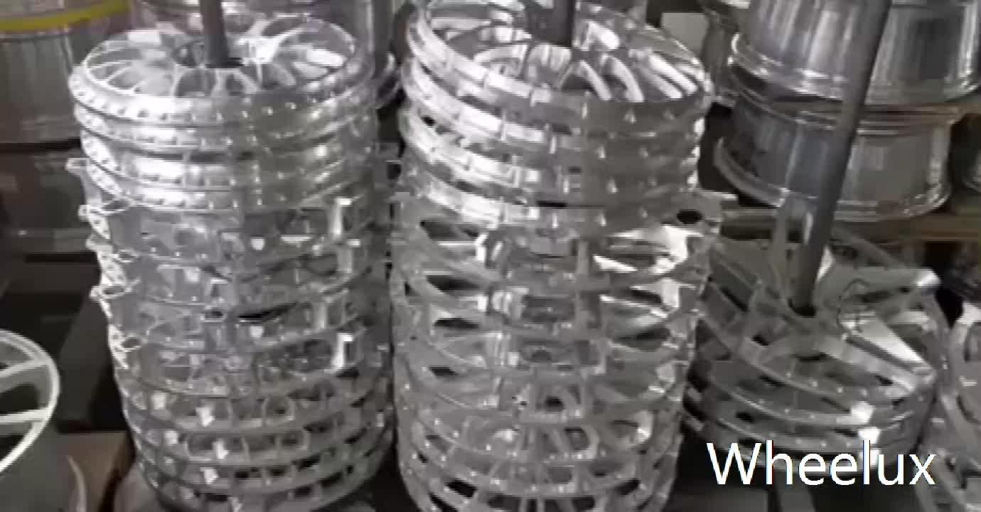 Llantas de aleación llantas de aluminio T6061-T6 18 19 20 22 pulgadas 5 agujeros ruedas forjadas