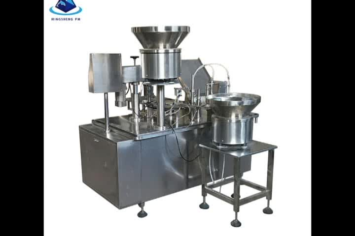 KGF-Z vial Liquid filling and capping machine