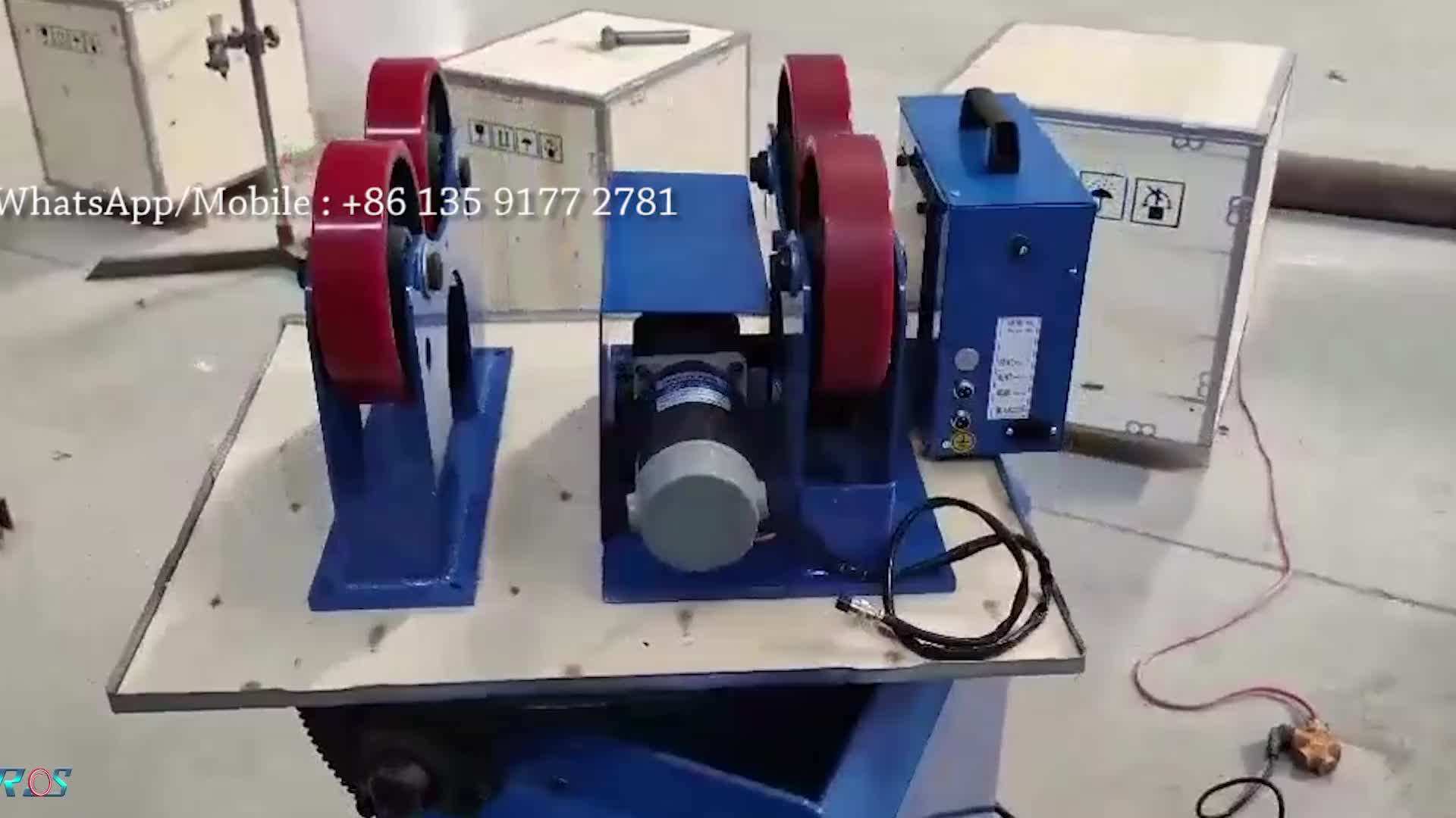 In tutta la Cina Mini 1 Ton 3 Ton regolazione Manuale di saldatura rotatori