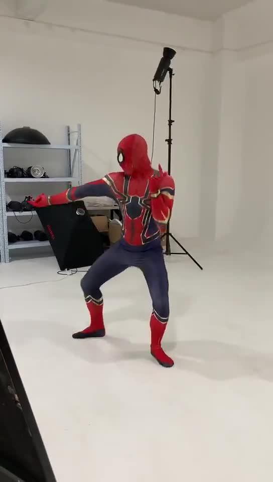 Nuevos trajes de Cosplay de Spiderman para hombre araña lejos del hogar traje de Peter Parker Zentai traje de adulto niños Spiderman accesorios de superhéroe