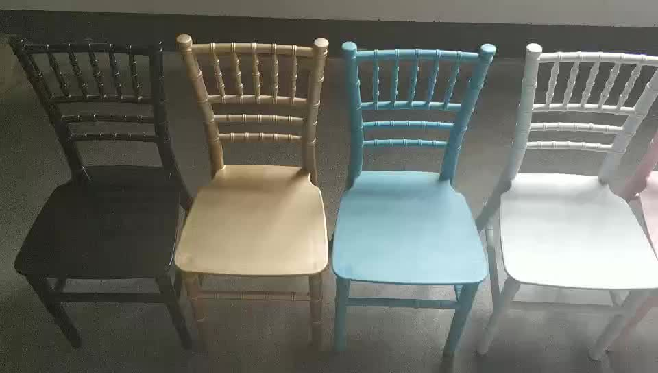 China factory stackable children party chair/plastic party chair/kids resin chiavari chair