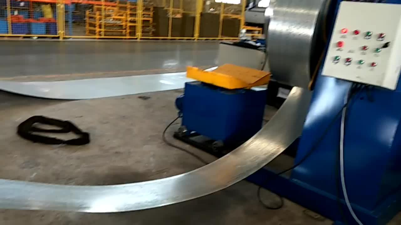 Aluminium c shape steel beam roll forming machine