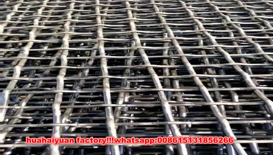 Chinese supplier wholesales high quality products stone vibrating screen mesh