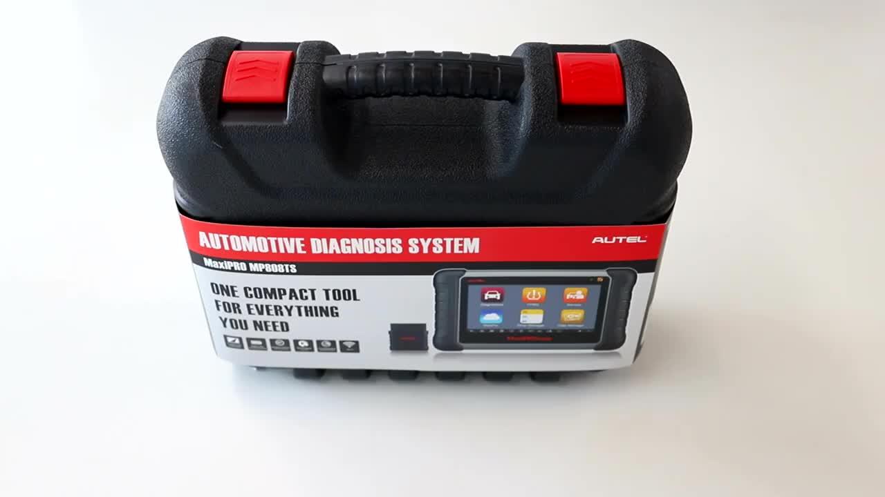 Autel MaxiSys MP808TS Auto Diagnostic Scanner Multi-Language Next Generation Autel MaxiDAS DS708