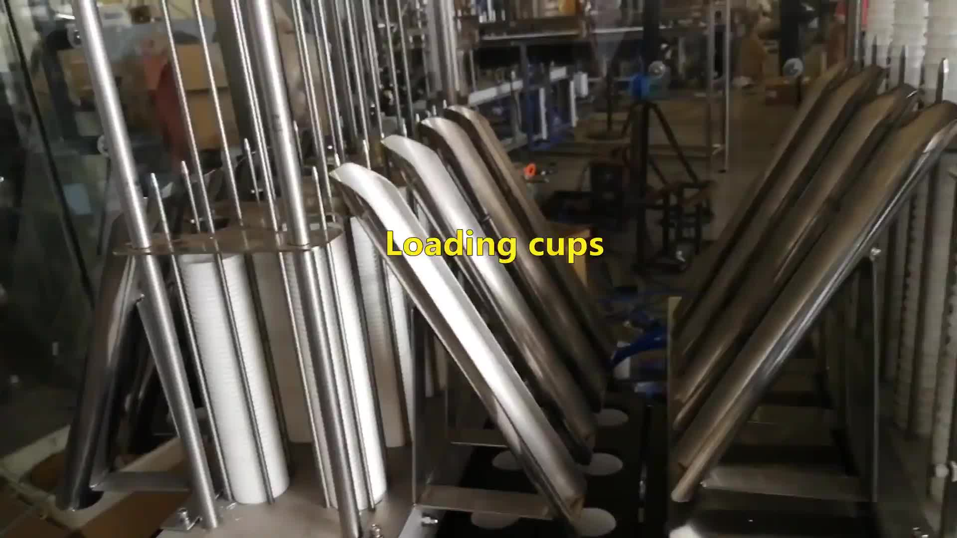 Automatic k cup coffee powder capsule filling and sealing machine Shanghai factory price high speed