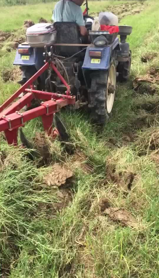 Farm equipment 3 point suspension tractor agricultural disc plough