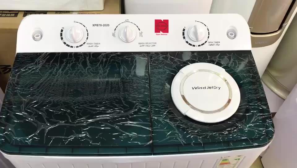 Famiglia di grandi dimensioni capacità 15 kg a frequenza variabile semi automatico a due tubi lavatrice e asciugatrice 220v