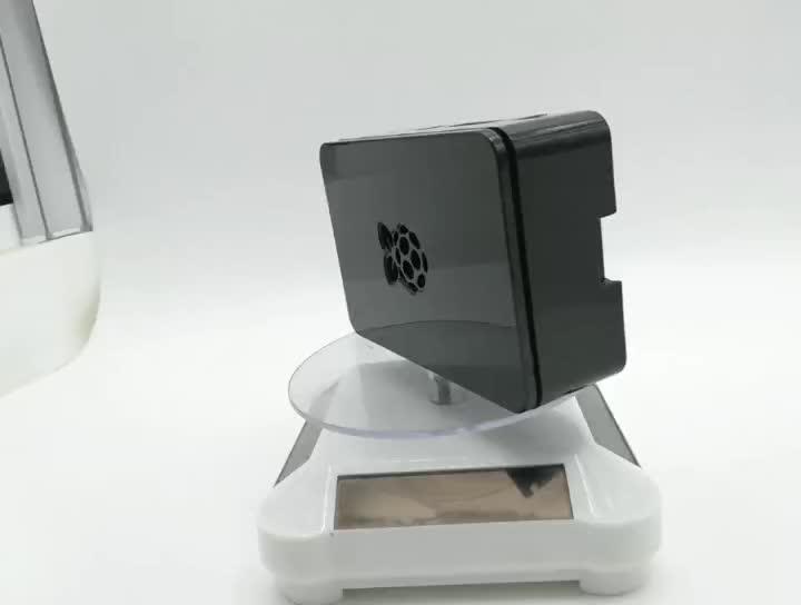 חדש סגנון פטל pi 4 דגם B ABS מקרה