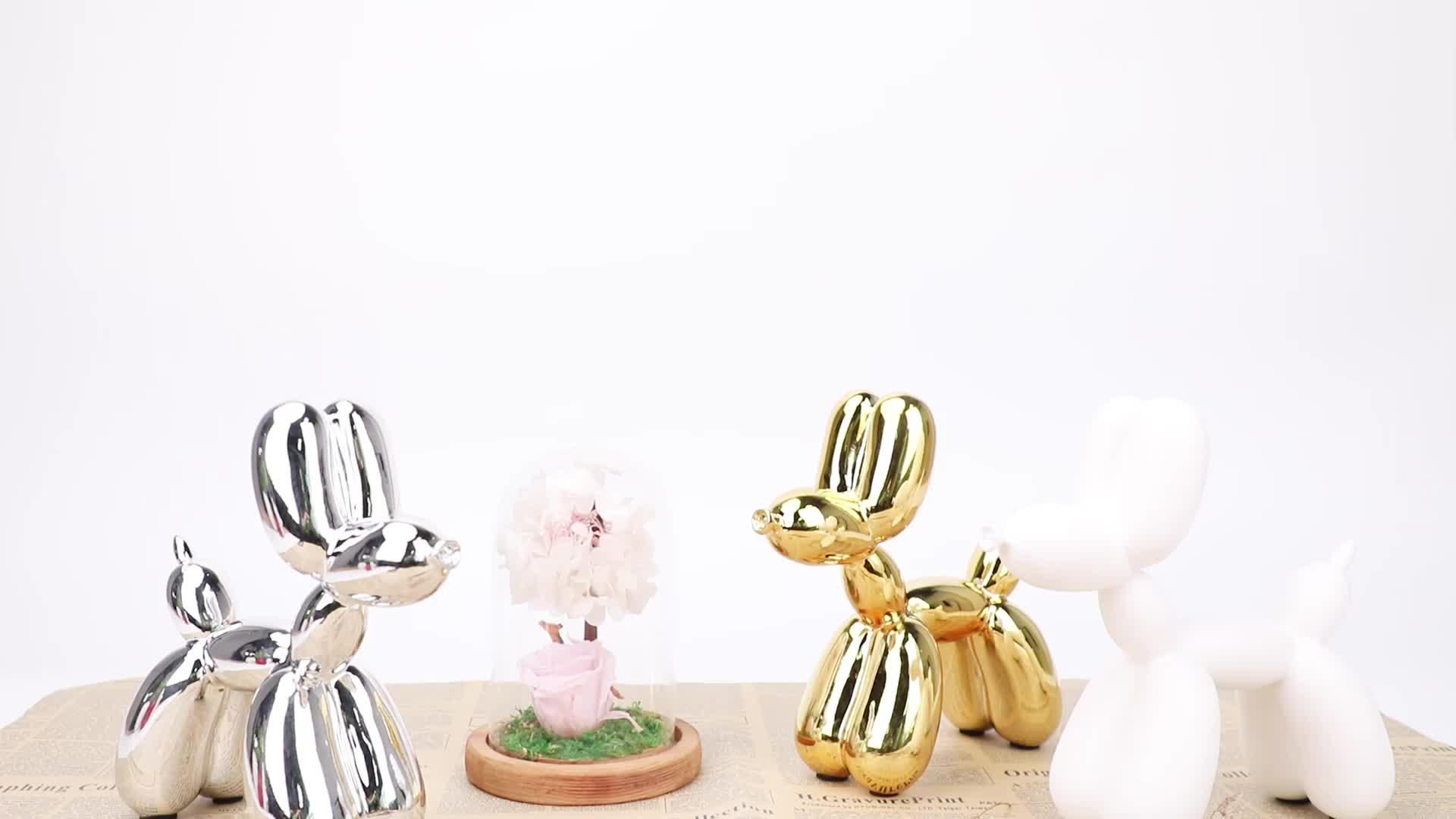 Beste verloting geschenken hond ballon ballon hond sculptuur voor home decor